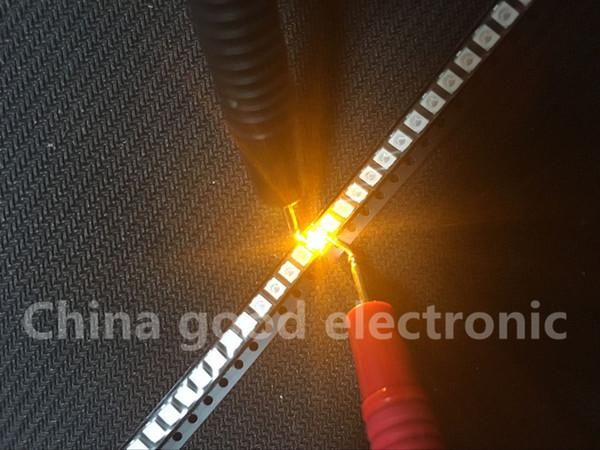 Wholesale- 200pcs Yellow POWER TOP 1210 3528 SMD SMT PLCC-2 1500MCD Ultra Bright LED New Wholesale