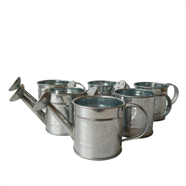 Садовые Принадлежности очистить Цвет дешево Мини-цветочный чайник маленький умный Декоративные лейки Свадебные пользу ведро детские горшки