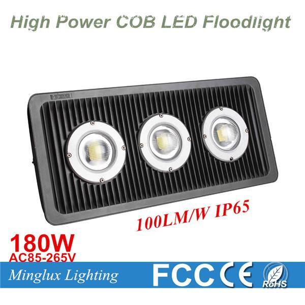 180W High Power COB Flood Light Factory Price Outdoor Waterproof Project Lamp 180W Waterproof Wall COB LED Cast Light AC85-265V