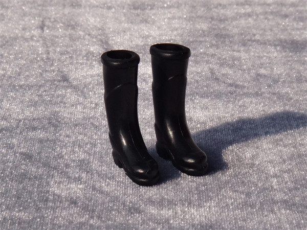 top popular Rubber Rain Boots 1:12 Garden Porch Miniature Dollhouse Toy 2021