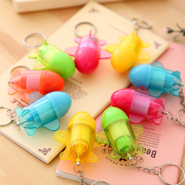Manufacturers selling creative stationery and lovely Cartoon plane model pen ball-point pen