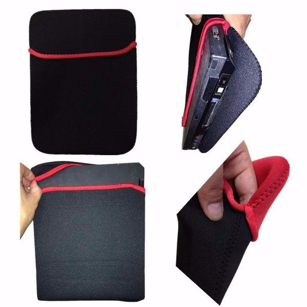 Pour la tablette universelle 7 8 10 11 12 13 14 15.6inch Étanche sac Housse pour ipad Sunsamg ASUS Lenovo Huawei + stylo