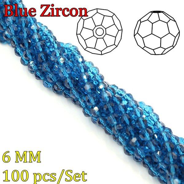 Blauer Zirkon