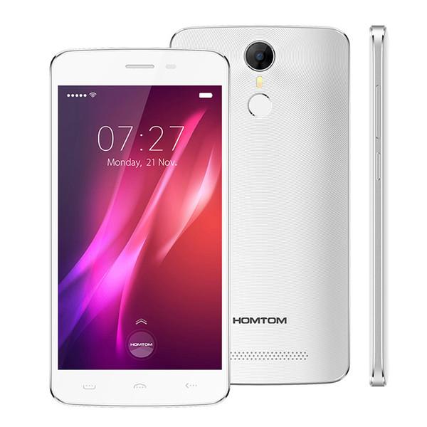 best selling FREE DHL!!!Original Homtom HT27 5.5 inch MTK6580 64bit Quad Core Android 6.0 1GB RAM 8GB ROM 1280*720 8MP 3000mAh Touch ID Smartphone