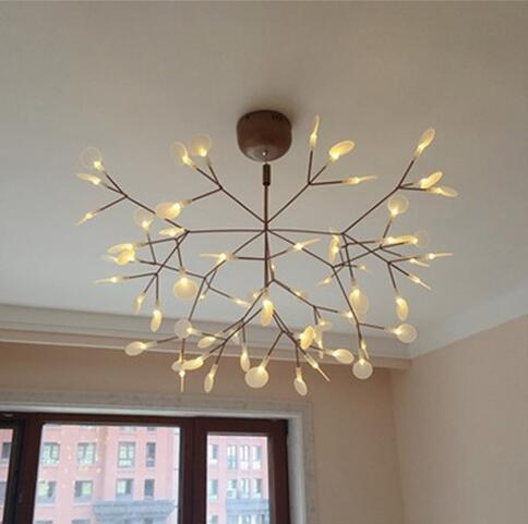 Remarkable Modern Art Deco Led Pendant Lamps Creative Chandelier Artistic Simplicity Firefly Chandelier 8W 13W 18W For 6 To 18 Square Meter Room White Vintage Download Free Architecture Designs Rallybritishbridgeorg