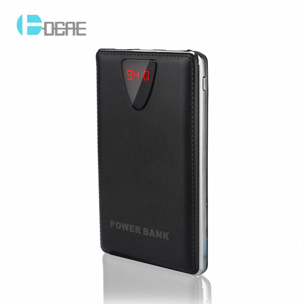 New Style Ultra-thin Power Bank 10000mAh 3 USB External Backup Battery Portable Charger PowerBank For iPad iPhone Samsung Xiaomi Huawei
