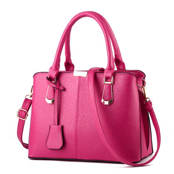 Grande capacidade mulheres messenger bags cor soild moda senhora cross-body bolsa de ombro partido totes 9 cores