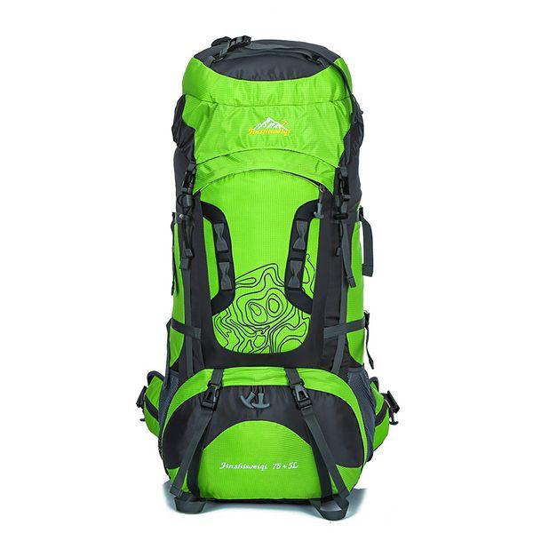 Wholesale- 80L Professional Mountaineering Bags Large Capacity Backpack Waterproof Wear Travel Bags