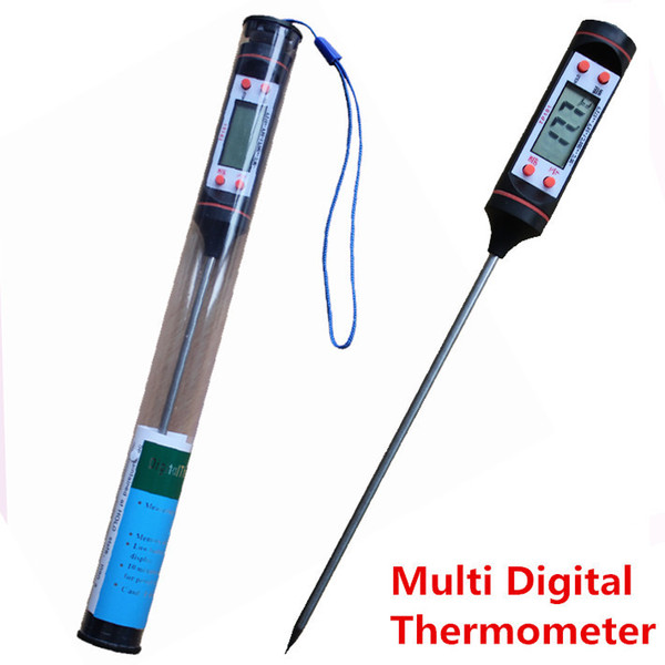 100Pcs/lot Hot sale Digital Food Thermometer Pen Style Kitchen BBQ Dining Tools Temperature Measurement Instruments Cooking