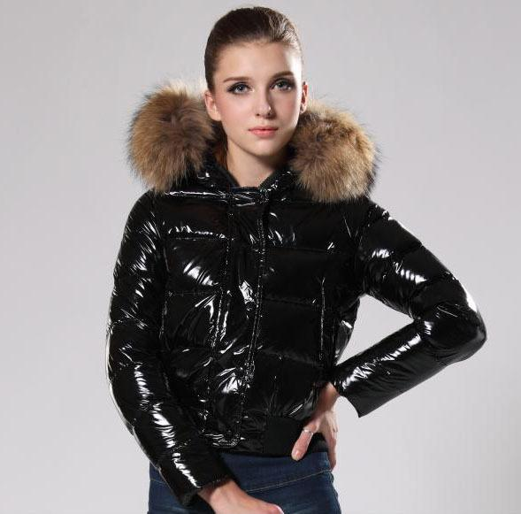 2017 2015 Jacket Brand New Goose Down Jackets Good Big Real Fur ...