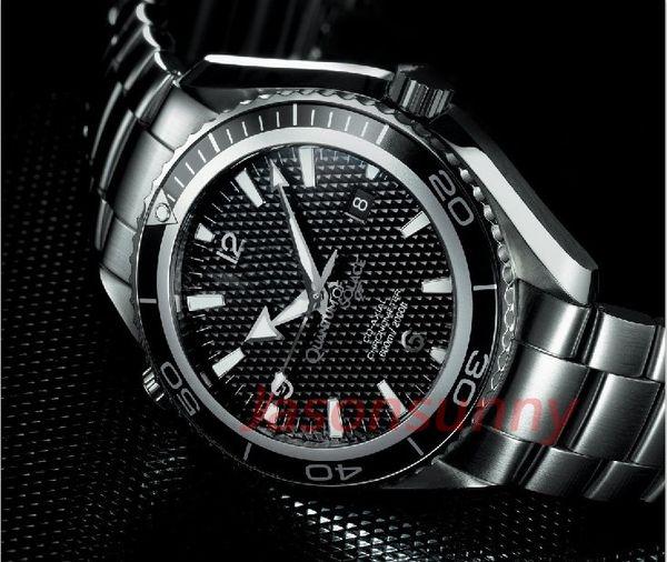 Relógio de luxo James Bond 007 Skyfall Movimento automático Relógio Homens Relógios Esportes Moda Mens Relógio De Pulso