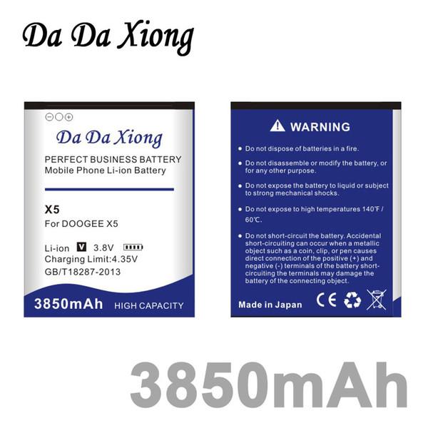 top popular Da Da Xiong 3850mAh DOOGEE X5 Battery for DOOGEE X5 X5S PRO 2019