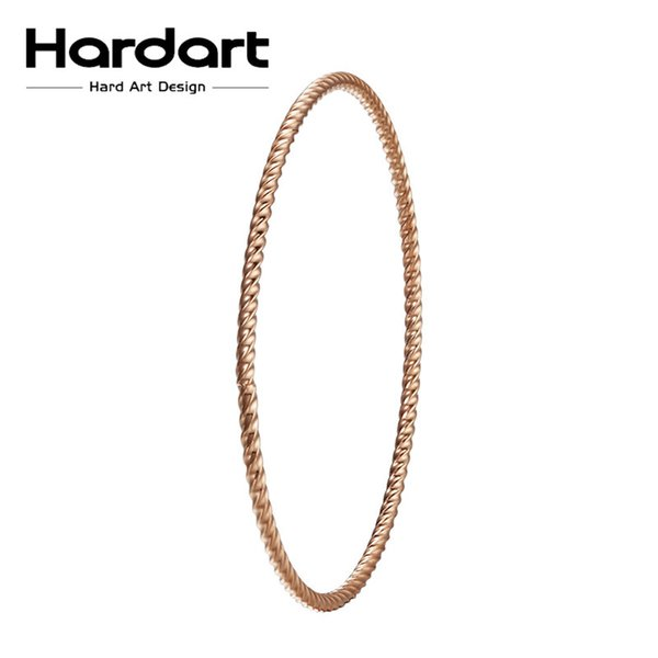 Thin Iron Wire Twisting Circles 316l Stainless Steel Bangle Jewelry ...