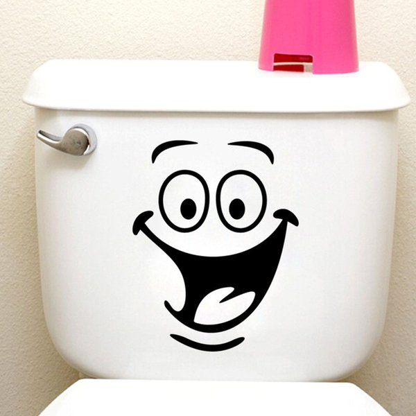 grande bouche autocollants de toilette décorations murales 342. diy vinyl adesivos de paredes accueil décalcomanie mual art affiches imperméables papier 7.0