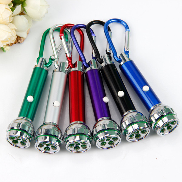 Five light laser flashlight portable lighting key button electronic promotional gift wholesale