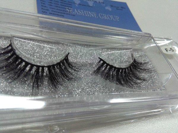 5Pair 3D Lashes False Eyelashes Natural Makeup 3d Mink Lashes Eyelash Extension Make Up real siberian mink strip eyelashes