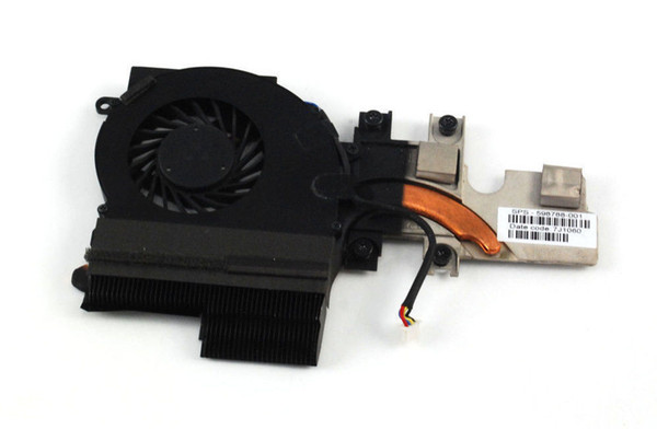new Original cooler for HP Elitebook 2540P cooling heatsink with fan radiator 598788-001