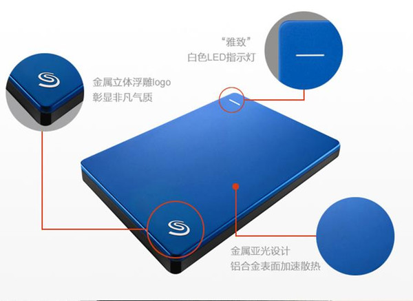 2TB The hard disk Portable External Hard Drive USB3.0 2.5