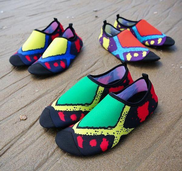 daac832990 Mens Womens Water Skin Shoes Quick Dry Aqua Socks Barefoot Shoes for Beach  Swim Surf Yoga