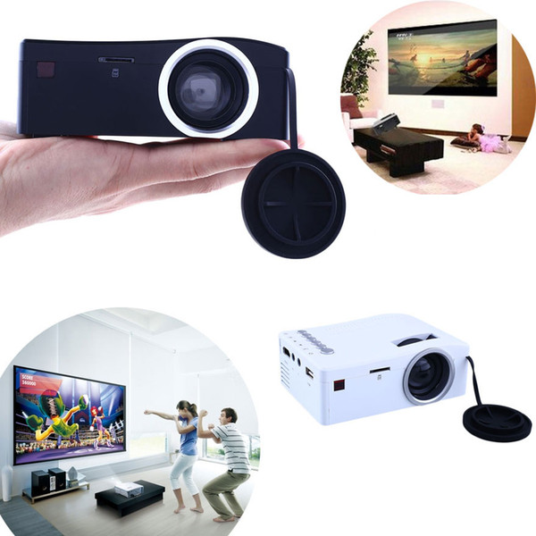Wholesale-2016 Hot Sale Mini Projector TV Led Video LED Beamer Home Theater HDMI Android Projeksiyon