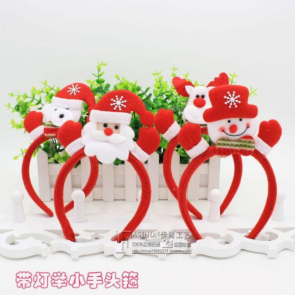 Weihnachtsartikel für Erwachsene und Kinder mit leichten Hand LAORENTOU Hoop Schnalle Ornamente
