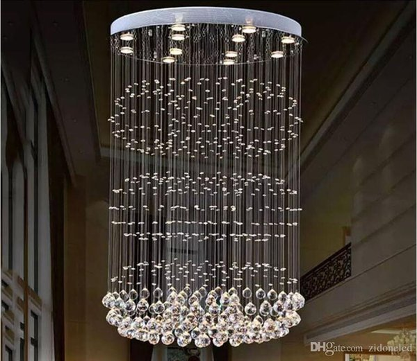 Lámparas de araña de cristal modernas Iluminación de techo Lámpara de araña Lámparas de interior Lámparas de sala de estar Decoración del hogar Luces colgantes de LED