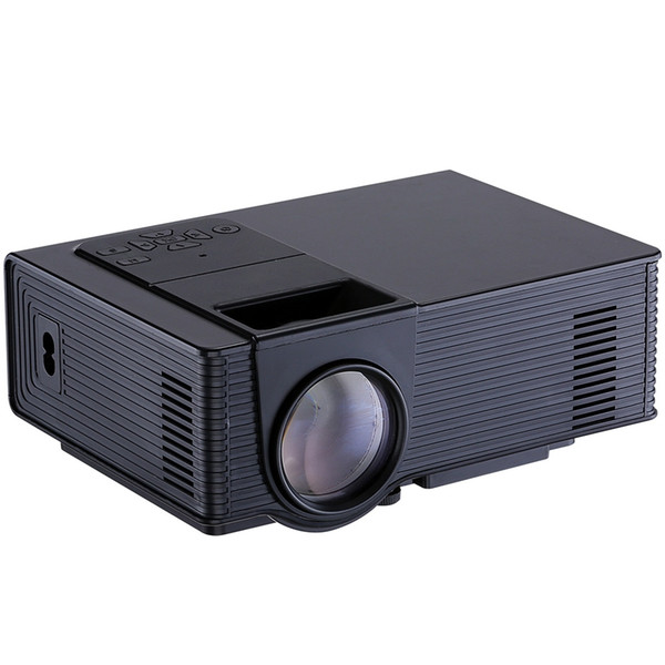 Wholesale- LED Mini Home TV VS314 Projector Full HD 1500 Lumens Analog TV ATV HDMI Interface Media Player Portable Home Theater Proyector