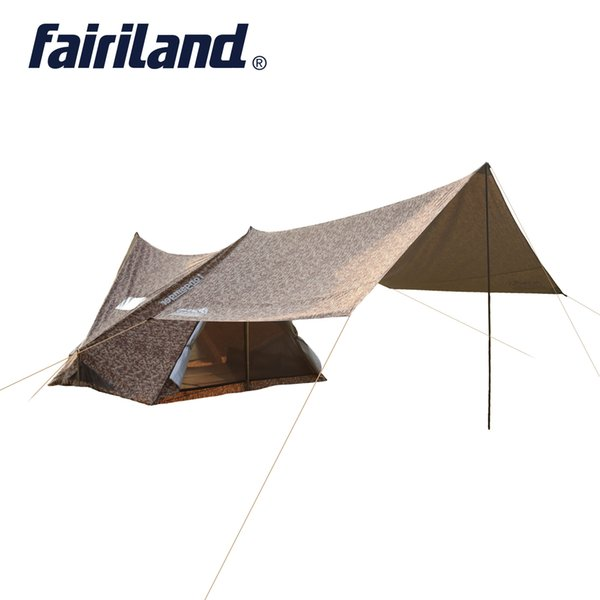 5 person camping tent family tent with 137.8*157.5*78.7in Large rain fly tent tarp sunshelter camping gear