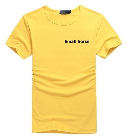 Factory direct selling brand men's Pony T-shirt 508 foreign trade men's t-shirt men's short sleeved polo shirt