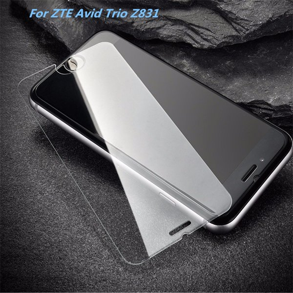 For Samsung A5 2017 Tempered Glass Screen Protector For Samsung A3 (2017) J2 Prime For ZTE Avid Trio Z831 Film Anti-shatter Paper Package