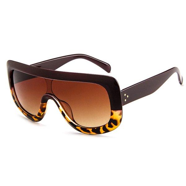 Jujibe Red Leopard Gray Lens