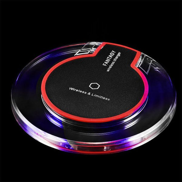 best selling On Sale Original Wireless Charging Pad Cordless Cell Phone Charger For Goophone S9 4g Lte Phone 7 Plus S7 Edge Huawei Cellphones