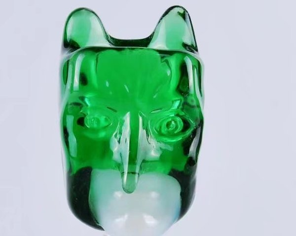 With ear bubble glass bongs accessories  , Glass Smoking Pipes colorful mini multi-colors Hand Pipes Best Spoon glas