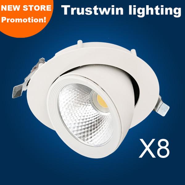 Plafonnier LED orientable plafonnier bas lumière LED rotative lumière de cardan