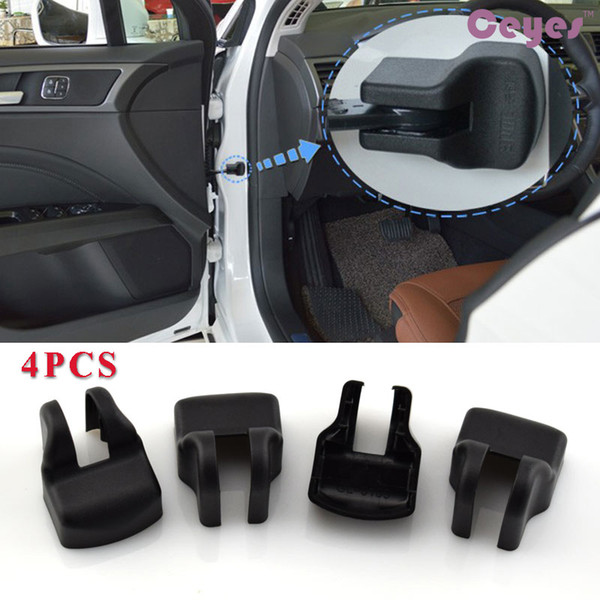 4PCS Anti-Rust Car Door Limiting Stopper Buckle Cover Case for Toyota coralla avensis rav4 c-hr auris camry yaris Car Styling Accessories