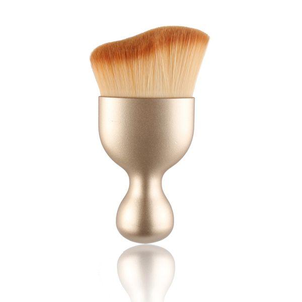 Макияж кисти профессиональный румяна фонд S форма мода многоцелевой макияж кисти косметические инструменты
