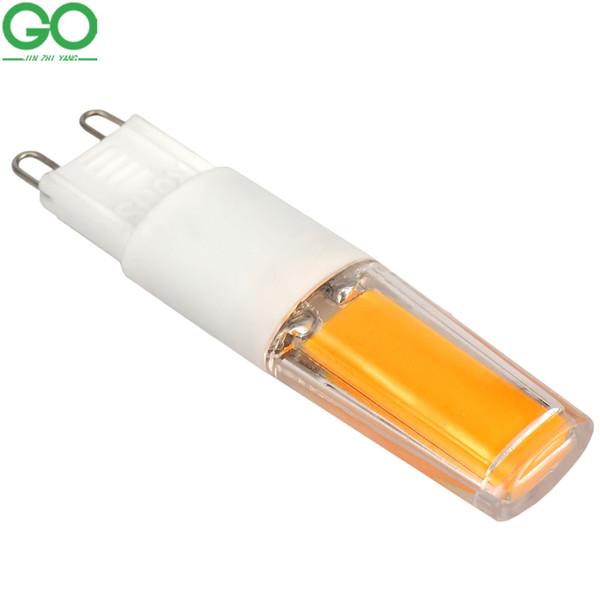 G9 COB LED Bulb 6W Corn Light Lampada 110V 120 220V 230V 240V Ceramics Led Lamp ceiling Candle Crystal Replace Halogen Chandelier Lights
