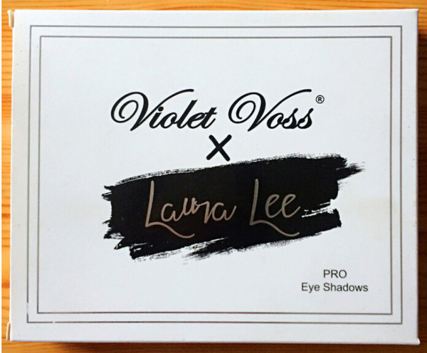 Top Quality Violet Voss x Laura Lee Pro Eye Shadow Palette REFOR 20 color eyeshadow hot item DHL free from grandsky