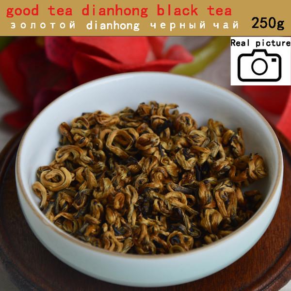 Buona qualità cina tè Nero tè DianGong oro dolce vite Yunnan pollo DianHong deqing DianGong 250g Spedizione gratuita