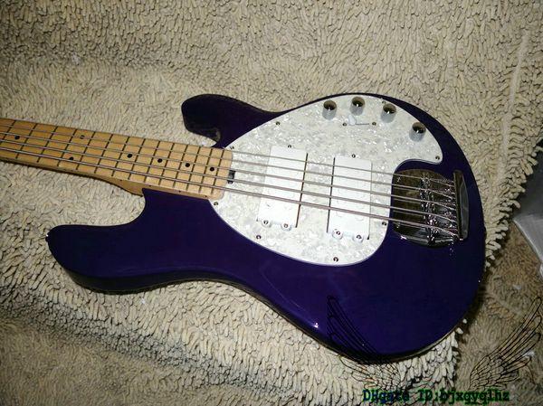 Purple Bass Guitars StingRay 5 Electric Bass Maple Fingerboard New Arrival Wholesale Guitars