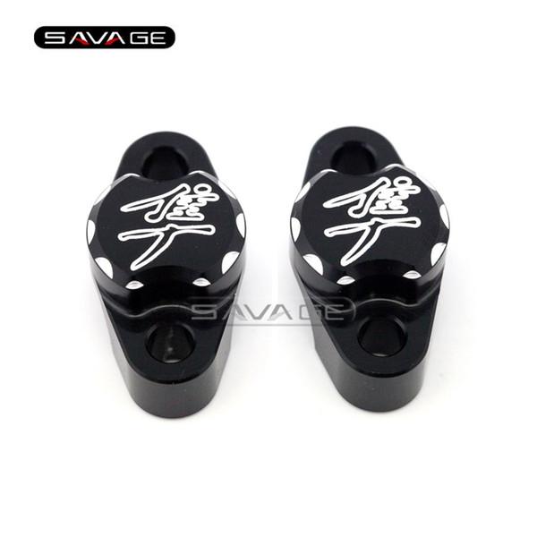 For SUZUKI GSX 1300R GSX1300R HAYABUSA Motorcycle Accessories Brake Clutch Master Cylinder Clamp Handlebar bar Clamp Cover Bk