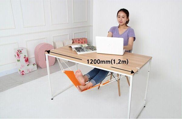 FUUT Canvas Foot Rest Desk Hammock Mini Office Chair Care Tool Stand Desk  Feet Hammock The