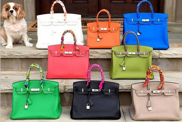 silber hardware damen tasche schulter handtasche tote dame heiß saling handtasche JP AU France CA brieftasche Togo Epsom echte leder tasche US EUR