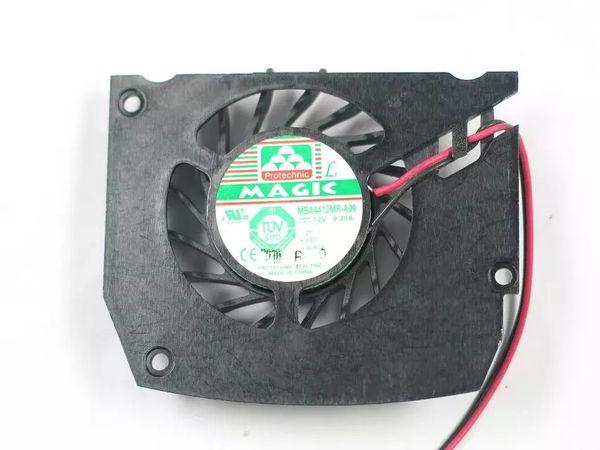 Envío gratis para MAGIC MBA4412MR-A09 DC 12V 0.20A 2 hilos de 2 pines conector 65 mm tarjeta gráfica ventilador