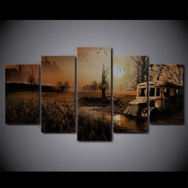 HD Printed 5 Piece Canvas Art Velvet Assassin Painting Wall Pictures for Living Room Frames Game Poster Free Shipping