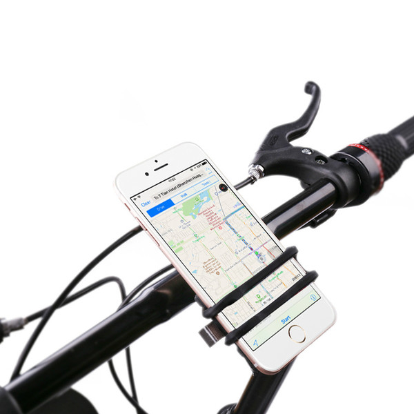 Universal Cell Phone Bicycle Handlebar&Motorcycle Holder Cradle with 360 Rotate for iPhone 6s 6 5s 5c 5,Samsung Galaxy S5 S4 S3