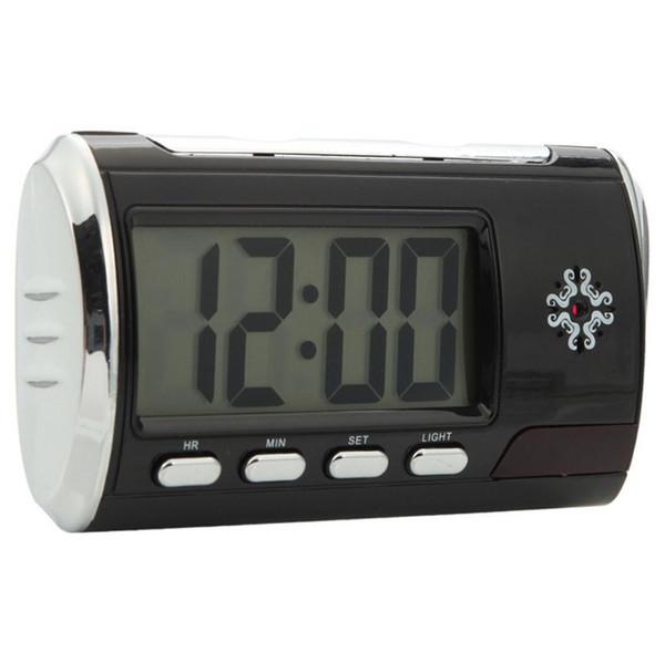 32GB Wifi Mini Clock Camera Wireless Network Camera Mini Surveillance Camcorder Indoor DVs Video Recorder Motion Detection Security DVR