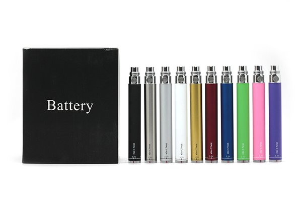1pc eGo-c Twist batterie cigarette électronique Kit tension variable batterie 900mAh 3.2-4.8V 1100mAh 1300mAh Kits eGo Pour CE4 MT3 réservoir