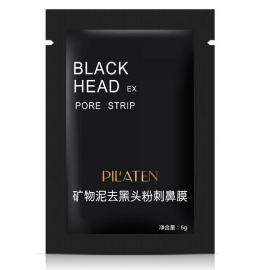 best selling PILATEN Suction Black Mask Face Care Cleaning Tearing Style Pore Strip Deep Clean Nose Acne Blackhead Facial Mask Remove Black Head DHL SHIP
