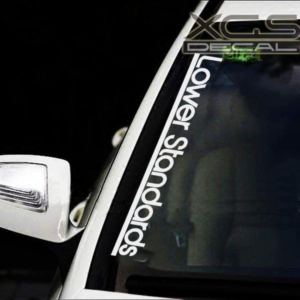 лобовое стекло автомобиля ветровое стекло наклейки наклейки нижние стандарты 58 см х 8 см автомобиль мотоцикл мотоцикл водонепроницаемый виниловые наклейки